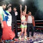 "Carolina ""Crespa"" Rodríguez se coronó campeona mundial categoría gallo de la WIBA"