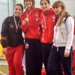 Caterin Bravo se coronó campeona sudamericana de esgrima en Argentina