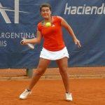 Fernanda Brito cayó en cuartos de final del ITF de Lima