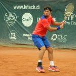 Gonzalo Lama cayó en primera ronda de dobles en Challenger de Pereira