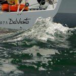 """Velero """"Estampa del Viento"""" sigue tercero tras suspensión regatas en el Campeonato Europeo Soto 40"""