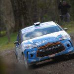 Tomás Etcheverry se mantiene en la pelea por el título de la categoría R3 del Rally Mobil
