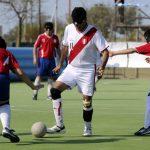 Chile logró un empate ante Perú en la Copa América de Fútbol Ciego