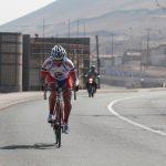 Danilo Villalobos se quedó con la copa de ciclismo 'René Araya Jimenez' en Antofagasta