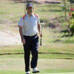 Felipe Aguilar tuvo una gran jornada que lo lleva a liderar el Abierto de Italia
