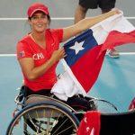 Francisca Mardones clasificó por primera vez al Masters de Tenis en Silla de Ruedas