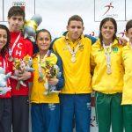 Atletismo y Canotaje entregaron nuevos oros para Chile en los Juegos Sudamericanos de la Juventud