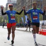 Erika Olivera y Gaspar Riveros se adjudicaron la Maratón por Equipos New balance – Subaru