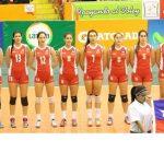 Chile cayó ante Perú en una nueva jornada del Sudamericano Adulto Damas de Volleyball