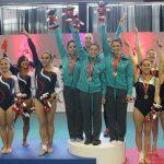 Gimnasia entregó las medallas en competencia por equipos y all around en los Juegos Deportivos Nacionales