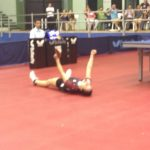 Paulina Vega se coronó campeona sudamericana de tenis de mesa