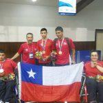 Chile logró el octavo lugar de los Juegos Parapanamericanos Juveniles