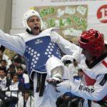 Carlos Liebig destacó en el taekwondo en comienzo de los Juegos Deportivos Nacionales