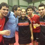 Judith Morales se coronó campeona sudamericana de tenis de mesa categoría sub-21