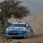 Tomás Etcheverry da un gran golpe por el título de la R3 del Rally Mobil