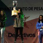 Región Metropolitana logró el título en levantamiento de pesas de los Juegos Deportivos Nacionales