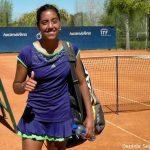 Tenistas chilenas tuvieron una jornada de triunfos en torneos internacionales