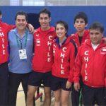 Tenis de mesa chileno realiza gran actuación en los Juegos Bolivarianos