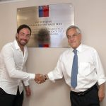 Esta tarde se inauguró en Villa Alemana el polideportivo Nicolás Massú
