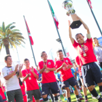 Chile se coronó campeón de la Copa América de Fútbol Calle 2013