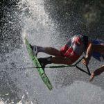 Aliaksei Zharnasek lidera la clasificación de figuras en el Mundial Open Esquí Naútico