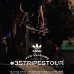 Team global de Adidas Skateboarding llega a Chile el 28 de noviembre
