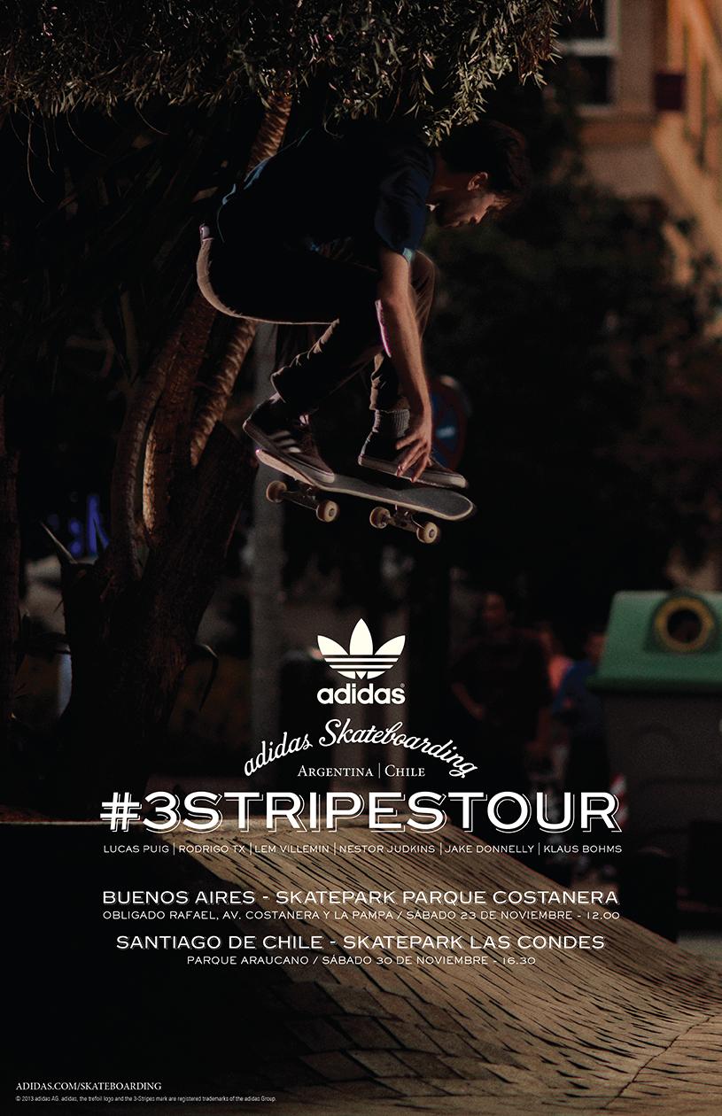 Estoy orgulloso almohadilla Polo  Team global de Adidas Skateboarding llega a Chile el 28 de noviembre – El  Deportero