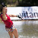 Regina Jaquess lidera el slalom femenino en el Mundial Open de Los Morros