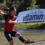 Valentina González lidera la clasificación en figuras del Mundial Open de Esquí Náutico