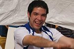 Pesista paralímpico Amaro Fica rompe récord mundial juvenil en Brasil