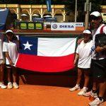 Chile damas logra su primera victoria en el Sudamericano Sub-12 de Tenis