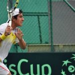 Derrota de Garín deja igualada a 1 la serie de Copa Davis entre Chile y Barbados