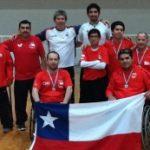 Tenimesistas paralímpicos chilenos brillaron en la Copa Tango en Buenos Aires
