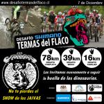 El 7 de diciembre se realizará el 'Desafío Shimano Termas del Flaco' de Mountainbike