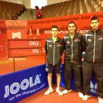 Finalizó la participación chilena en el Mundial Juvenil de Tenis de Mesa