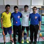 Patricio Álvarez y Bastián Lizama aseguraron medalla para Chile en el Sudamericano Juvenil de Badminton