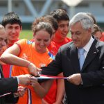 Presidente de la República inauguró el Centro Acuático del Estadio Nacional