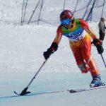 Jorge Migueles clasificó al Circuito Copa del Mundo de esquí alpino paralímpico