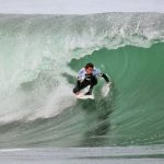 Este jueves se inauguró el torneo de surf Curanipe Pro 2013