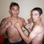 Liner Huamán y Roberto Marín realizaron ceremonia del pesaje antes de su combate en el Club México