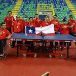 Con medallas por equipos cerró Chile su participación en Parapanamericanos de Tenis de Mesa
