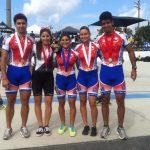 Cinco medallas suma Chile en el Clasificatorio de Patín Carrera para los Juegos Panamericanos