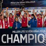 Chile 7 logró histórico título en el Seven Viña 2014