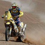 Daniel Gouet fue el mejor chileno en motos del Dakar ocupando el octavo puesto