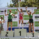 Valentina Carvallo gana por segundo año consecutivo el Ironman 70.3 Pucón