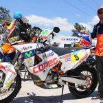 """""""Chaleco"""" López ya está en Rosario preparando la largada del Dakar"""
