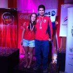 Tres medallas de bronce logró Chile en el Sudamericano Juvenil de Squash