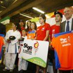Metro firmó alianza estratégica con la organización de Santiago 2014