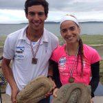 Felipe Barraza y Valentina Carvallo ganaron la segunda versión del Triatlón Chiloé