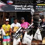 Moja Quintana y Arnaud Frennet dominaron el Starboard Paddle Pro Concón 2014